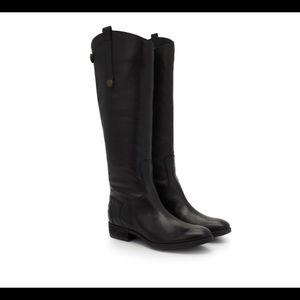 Sam Edelman Penny2 Black Boot - Wide Calf